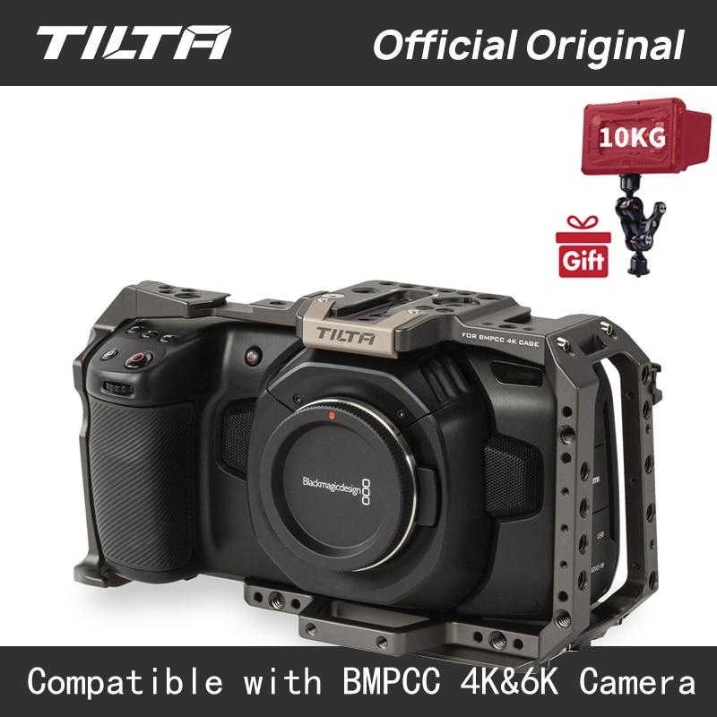Tilta BMPCC 4 K/6 K กรง Full กล้องบางส่วน Sunhood ไดรฟ์ SSD 90 องศา USB C สำหรับ BMPCC 4K กล้องชุด-ใน อุปกรณ์เสริมสำหรับสตูดิโอถ่ายภาพ จาก อุปกรณ์อิเล็กทรอนิกส์ บน AliExpress - 11.11_สิบเอ็ด สิบเอ็ดวันคนโสด 1