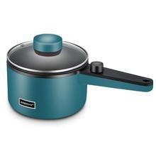 Wielofunkcyjna kuchenka elektryczna Hotpot Mini non-stick Food Noodle gotowanie patelnia jajko parowiec zupa naczynie do podgrzewania patelnia tanie tanio abay CN (pochodzenie) Zupa gulasz Związek dno 600W 220 v STAINLESS STEEL