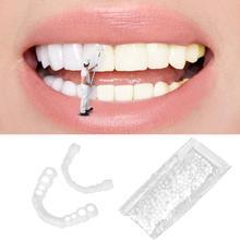 Denture Teeth Braces-Cover Tooth-Repair-Kit Beauty-Tool Whitening Solid Glue-Set Adhesive