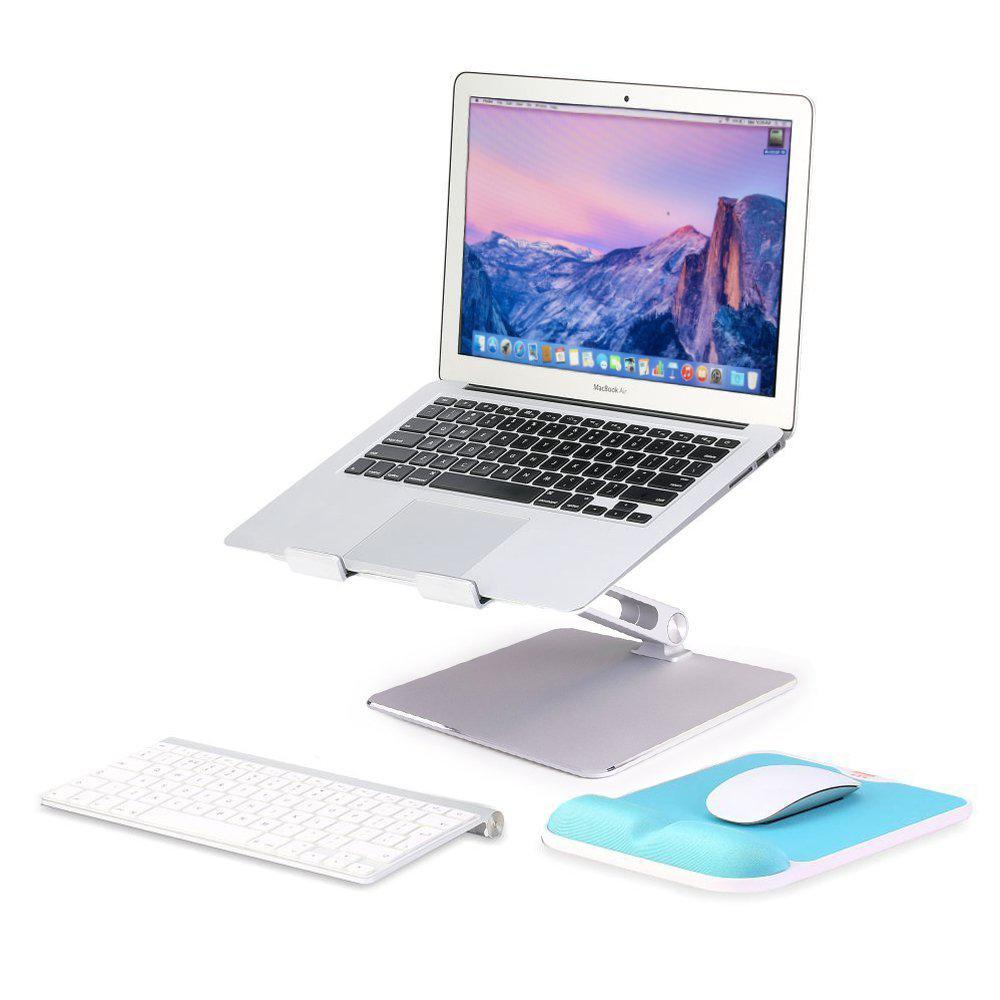 Support d'ordinateur Portable Vertical réglable en Aluminium Support de Base de Support Portable pour MacBook Pro accessoire d'air