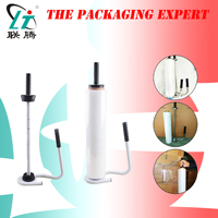 Manual Stretch Film Wrapping Machine Dispenser Tools Pallet Handle Packing Equipment Hand Hold Package Machinery Free Shipping|Vacuum Food Sealers| |  -