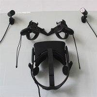Gancho de Montagem Na parede Suporte Compatível Com para Rift Oculus VR Headset/Touch/Sensor (Rift Caminhada Gancho) 3D Impressão Gancho de Montagem