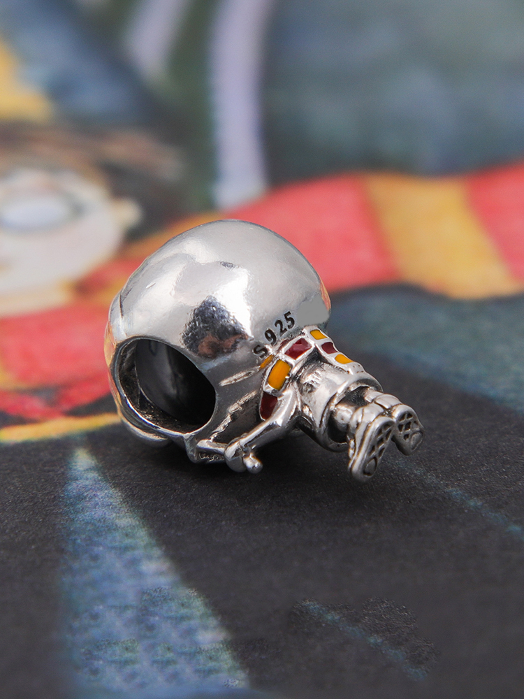 100% 925 Sterling Silver Sci-fi Collection Magic School Pendant Charm