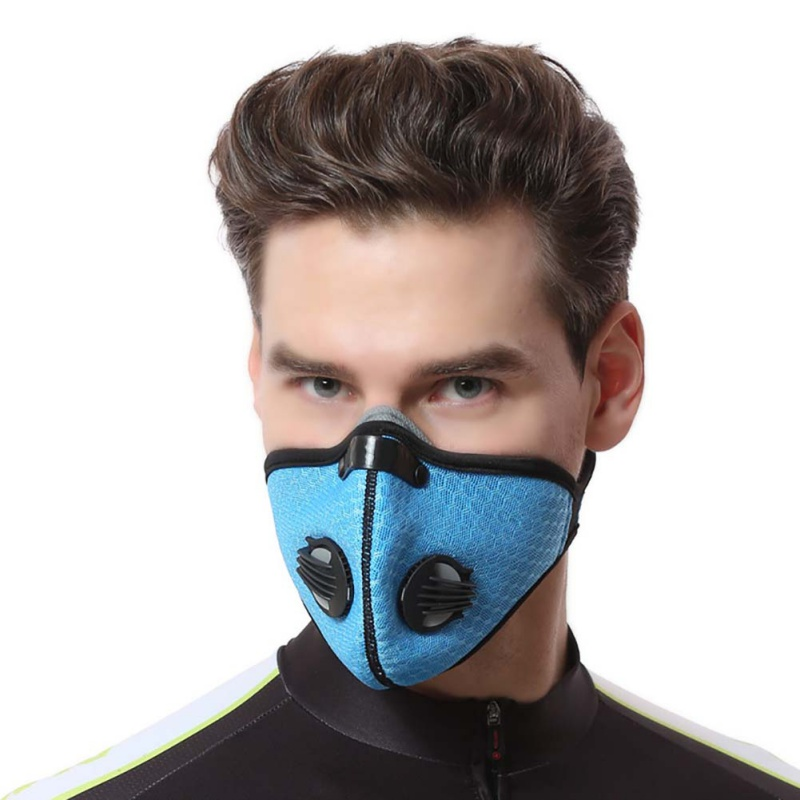 Face Mask Breathable Anti Dust Cycle Veil Guard For Women Men Maska Antysmogowa