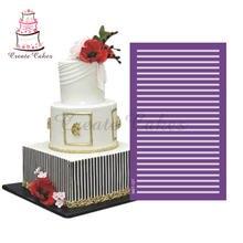 Новый дизайн трафареты для торта сетчатые свадебного форма помадки