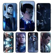 Detroit Become Human RK800 Connor Phone Case For honor 7apro 8 9 10 20 8c 7c x lite play pro hrt-lxit ru Cover Fundas Coque
