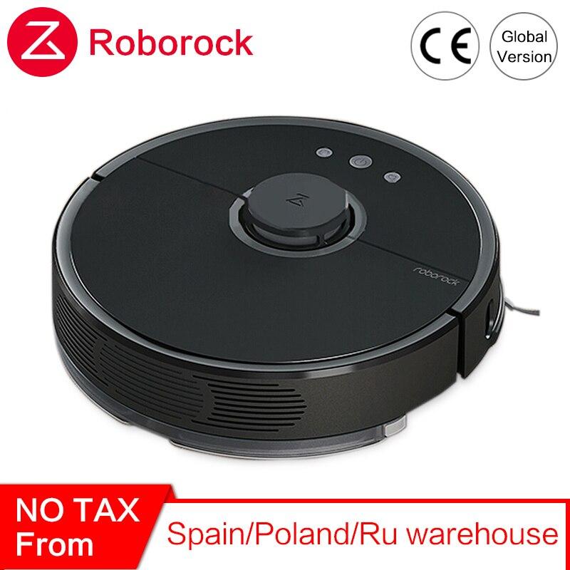 Новый пылесос Roborock S55 Xiao mi 2 для домашней уборки влажной уборки Роботизированный очиститель пыли умный робот mi Беспроводное управление приложением|Смарт-гаджеты|   | АлиЭкспресс
