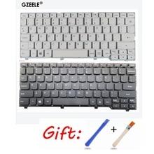 цена на New US laptop keyboard For Lenovo ideapad 100S 100S-11IBY English keyboard black/white