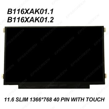 for HP Chromebook 11 G5 EE / G6 EE DISPLAY 1366*768  MATRIX WXGA 11.6'' eDP LCD LED Screen W/ Touch Panel 40 PIN slim +digitized
