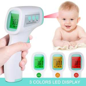 Non-Contact Digital Body-Temperature Baby Infrared Ir-Measurement-Tool-Gun Forehead Fever