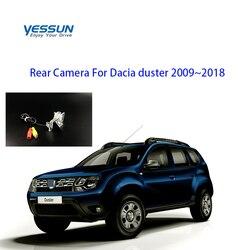 Yessun specjalny samochód widok z tyłu kamera cofania widok z tyłu parking dla Dacia duster 2009 ~ 2018 szerokość geograficzna Fluence Symbol Megane 3