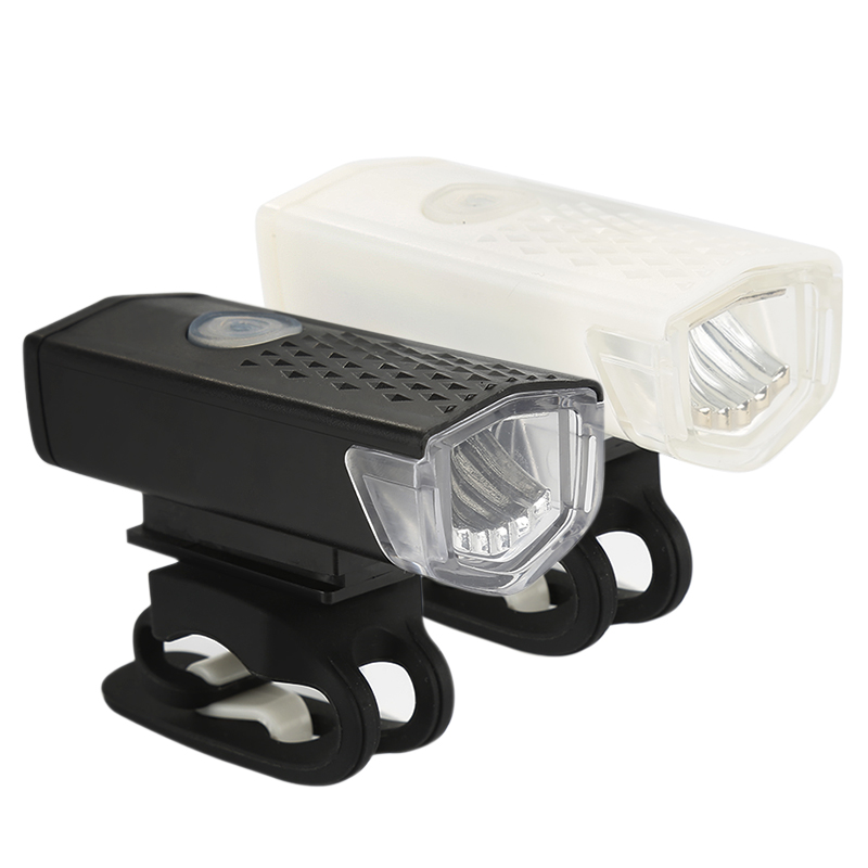Cycling LED Flashlight Lantern Bicycle-Lamp Bike Rechargeable Waterproof 300-Lumen 3-Mode title=