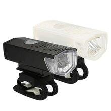 Bike Light Bike Headlight USB Rechargeable 300 Lumen 3 Mode Waterproof