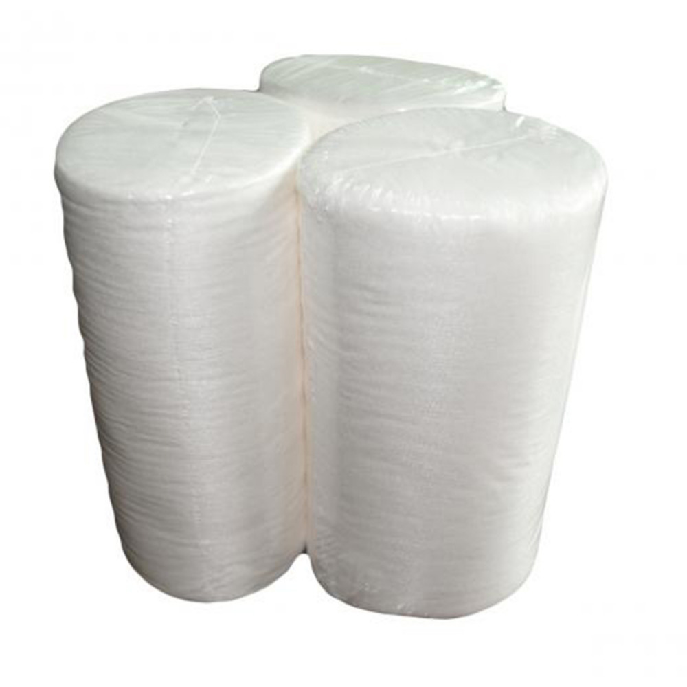 White Baby Flushable Biodegradable Disposable Cloth Nappy Diaper Bamboo Liners 100 Sheets for 1 Roll
