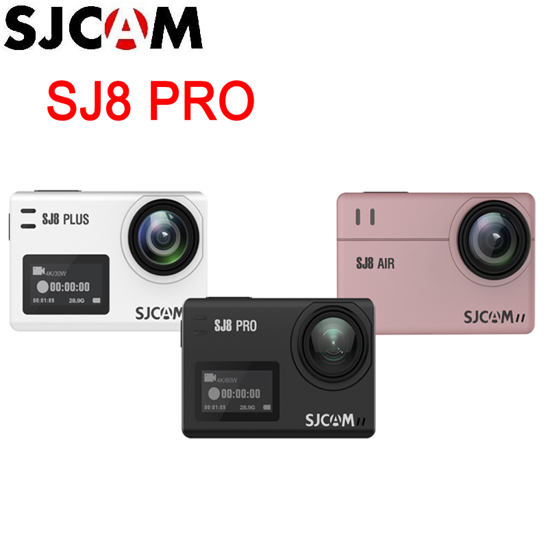 Original SJCAM SJ8 Series SJ8 Air / SJ8 Plus / SJ8 Pro Extreme Sport Action Camera WiFi Remote Control Waterproof Sports DV|Sports & Action Video Camera| - AliExpress