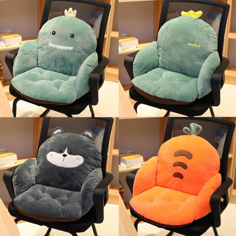 Chair Cushion Pillow Seat-Pad Sofa Office Home-Decor Cartoon Lovely Thicken Lanke