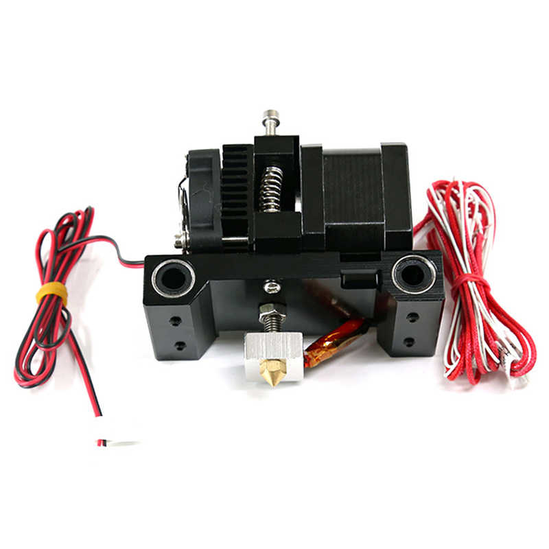 A6 Extruder 3D Head Printer Mk8 Single J-Kepala Hotend Nozzle Extrusor 1.75/3Mm ABS PLA Tambahan nozzle 42 Langkah Motor Bagian