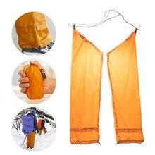 20D сверхлегкие Походные штаны для велоспорта на открытом воздухе легкие портативные водонепроницаемые с защитой от насекомых снежные песочные регулируемые шорты