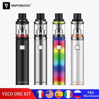 Original Vaporesso Vape VECO ONE Plus Kit Pen Electronic Cigarette with Built in Battery 1500mAh&3000mAh VECO Plus TANK EUC Coil цена 2017