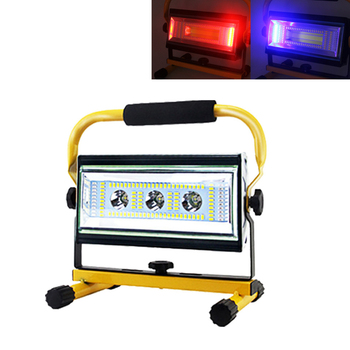 LED Portable Spotlight Searchlight Camping Light Rechargeable Handheld Work Light Power By 18650 Portable Lantern