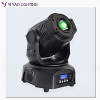 Professional 3 prism LED Spot 90w 7 colors+8 gobos WASH Moving Head Light Stage DJ Lighting|Stage Lighting Effect| |  -