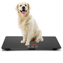 HD Big Screen Baby Pet Weight Scale Auto Hold KG LB OZ Switchable Use for Family and Big Dog Cat Accuracy:10kg-100kg ds mini baby scale 50g 100kg usb charging home use weighing scale split design suitable for adults and children 1pc