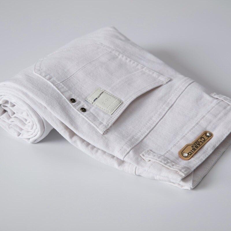 Brand New Mens Size 34 Fashion Denim Stretch Pants Khaki Black White Green Jeans