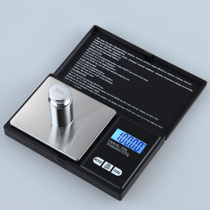 Ferramentas Da Cozinha Escala de Alimentos Eletrônico pequeno Atacado de Jóias Portátil 200g/0.01g Mini Portátil Banco de Presente de Ouro Chá escala