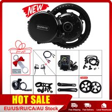Bafang 48V 500W BBS02B Ebike Mid Crank Drive Motor Kits E BIKE LCD Display Electric Bike Conversion Kit P850C 500C C965 Display