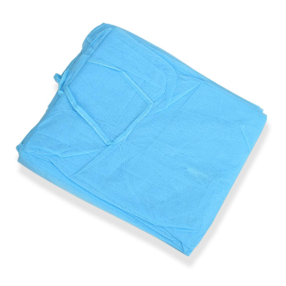 Disposable Non-woven Gown Breathable Apron Elastic Dust Proof Overalls Elastic And Breathable
