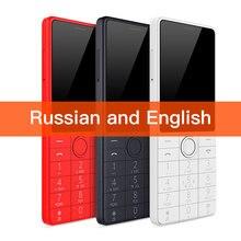 Xiaomi teléfono inteligente Qin 1S + VoLTE 4G, Wifi, 4G + 512MB, 2,8 pulgadas, 1480mAH, bluetooth 4,2, Control remoto por infrarrojos, GPS, Tarjeta SIM Dual, Ruso