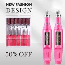 1 Set Pen Type Electric Grinder Nail Polishing Machine Manicure Machine Nail Art Pen Nail Art Decoration Tools