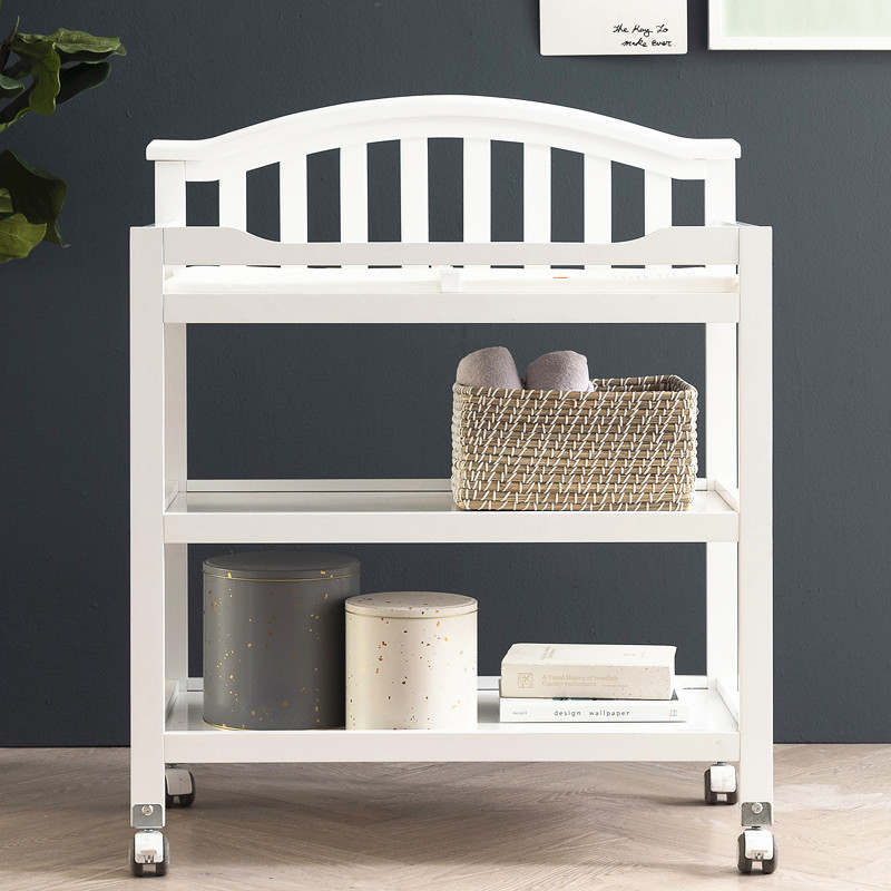 American Baby Bed Diaper Table Includes Changer Touching Nursing Bath Operation Cleaning