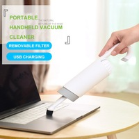 Ultra Quiet Mini Vacuum Cleaner Portable Dust Collector Home Handheld Vacuum Aspirator For Car and PC Keyboard