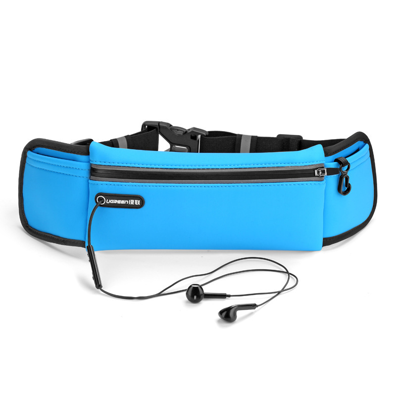 UGREEN Sports Waist Pack Outdoor Waterproof Multi-Kinetic Energy Sports Fitness Mobile Phone Storgage Bag