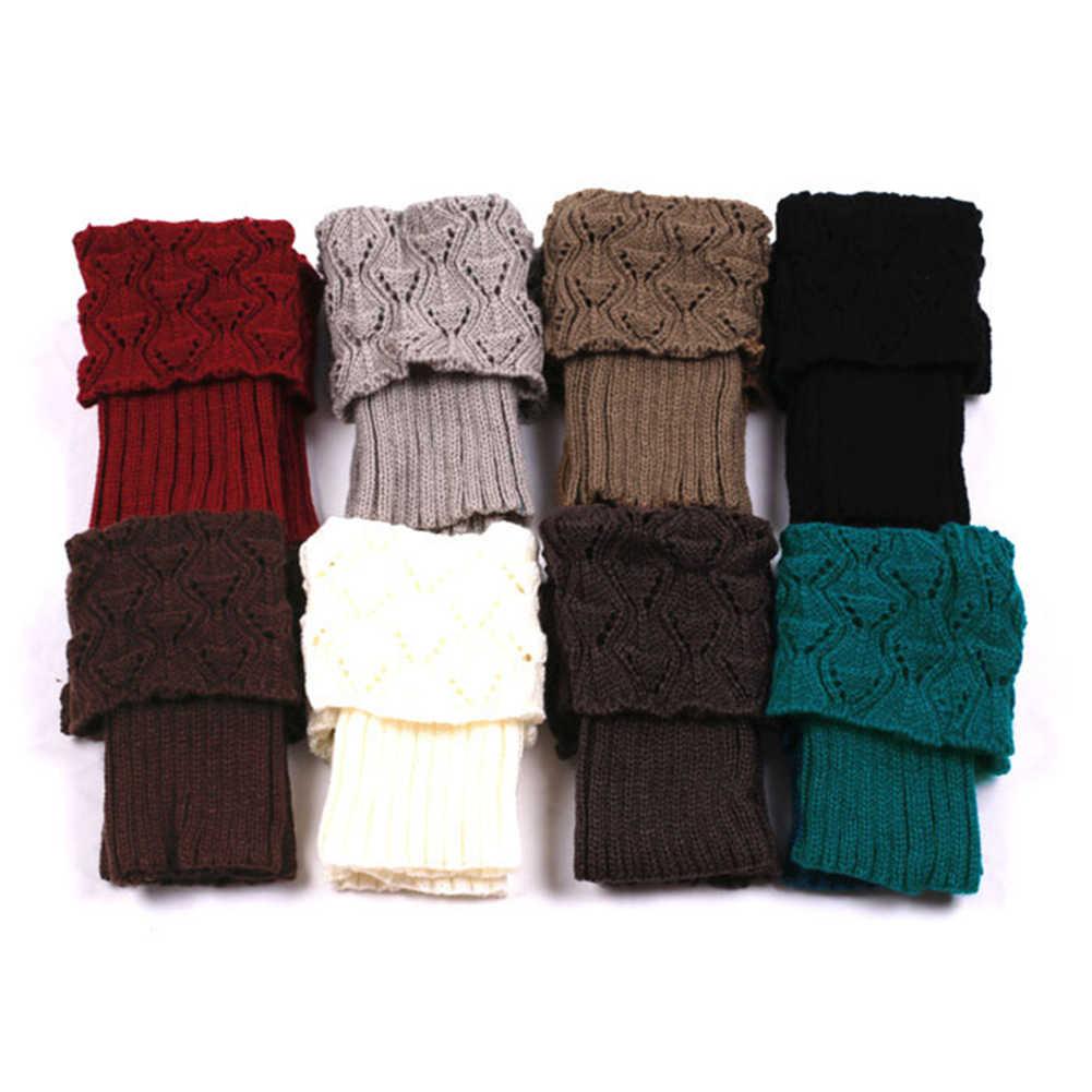 Accessoires bottes Jambi\u00e8res pour bottes en laine au crochet r\u00e9alis\u00e9es \u00e0 la main  orn\u00e9es  d/'un bouton Crochet