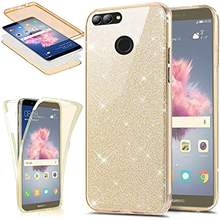 360 Glitter 3 in 1 Front + Back TPU Case for Huawei P Smart Y6 Y7 Pro 2019 P30 P20 Lite P10 Plus Mate 20 Cover Soft Phone Cases(China)