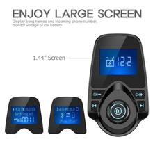 Bluetooth Car MP3 MP4 Transmitter Wireless In-Car FM Radio Adapter Hands-free Talking Kit For iPhone
