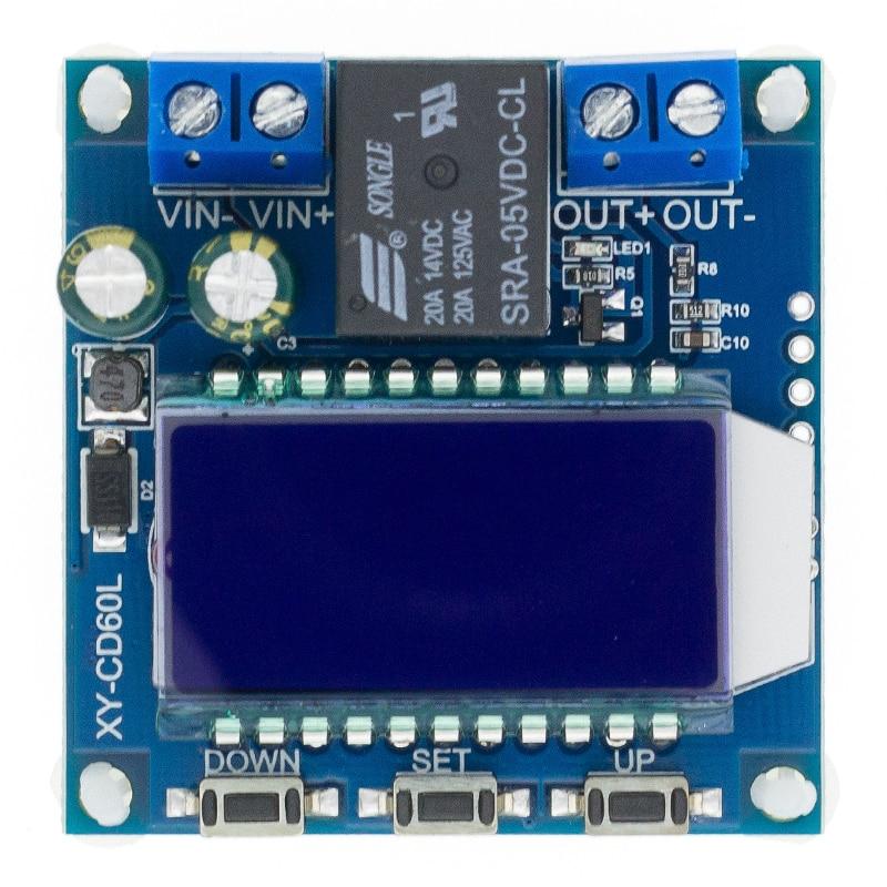 CD60L Solar Battery Charger Controller 12V 24V 48V Charging Discharge Control Module Under voltage Current protector Board