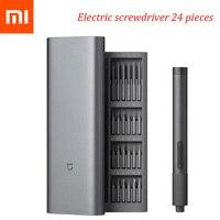 Xiaomi Norma Mijia Elettrico di Precisione Cacciavite Kit 2 Gear Torque 400 Vite Tipo 1-C di Ricarica Magnetico di Alluminio Della Cassa Della Scatola 24 S2