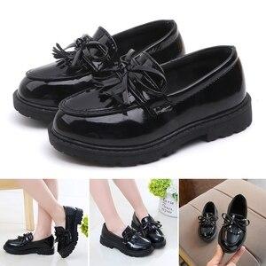 Детская повседневная обувь для девочек в британском стиле с кисточками, в консервативном стиле, для танцев, для детей, для выступлений, для д...