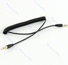 3,5 мм разъем аудио спираль спираль штекер к штекер M% 2FM штекер стерео удлинитель кабель 4 фута
