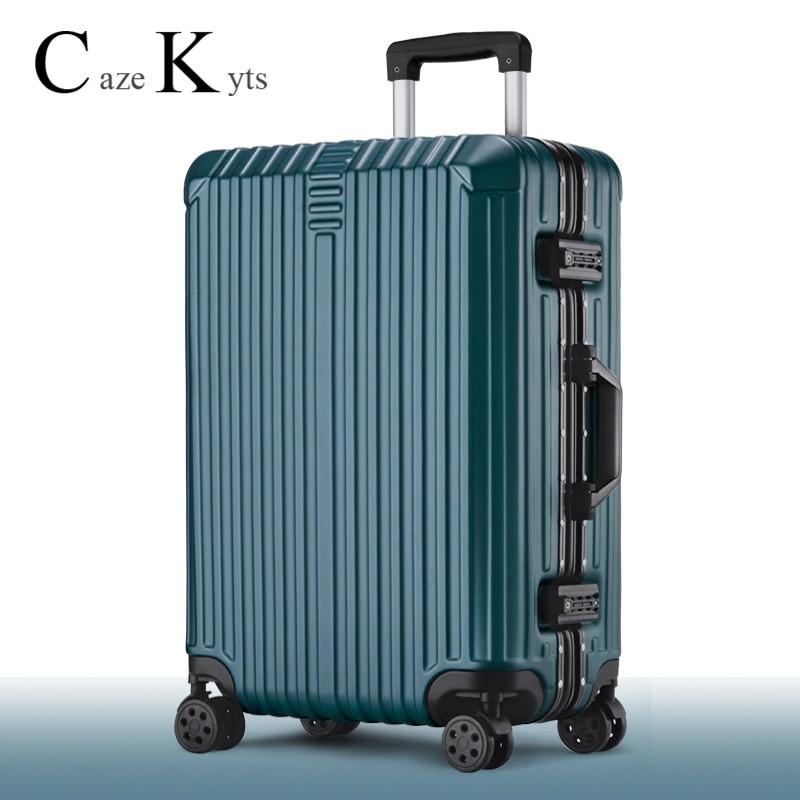New luggage trolley bag push luggage set stylish business boarding cabin luggage carry on luggage travel suitcase free shipping