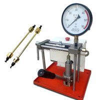 Diesel common rail injector tester tool PJ 60 wih big oil tank