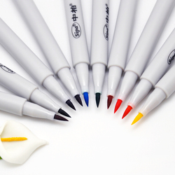 10 colors/set Premium Painting Soft Brush Pen Set Watercolor Markers Pen Effect Best for Coloring books Manga Comic Calligraphy