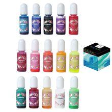 Mold Pigment Dye Art-Making Epoxy Resin 15-Colors 10ml Dropship Diy-Crafts Each