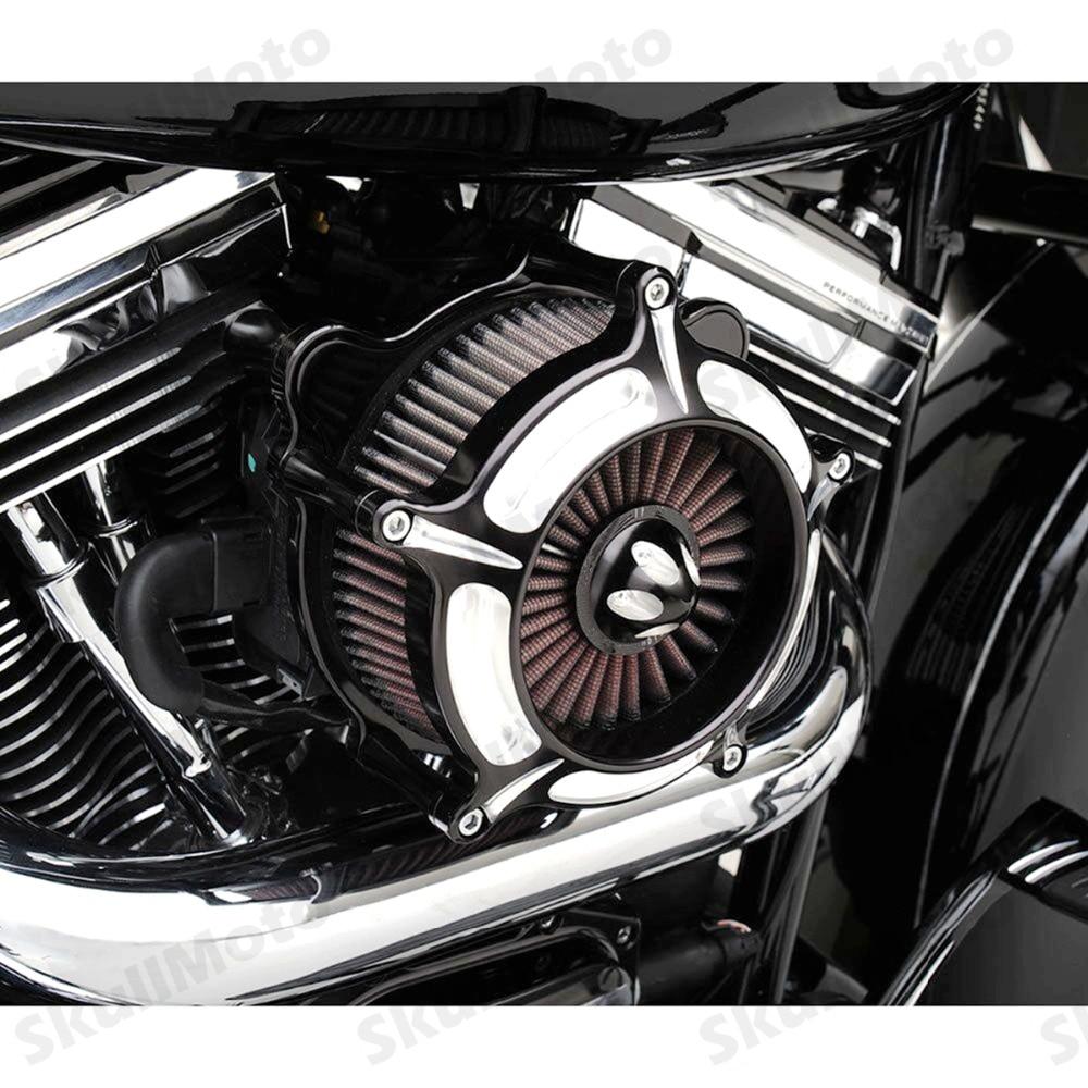 Filtre dadmission pour Harley Sportster | filtre à Air de moto rcycle coupe contrastée Turbine filtre 1200-1991 filtre moto