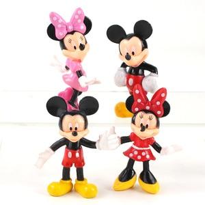Image 2 - Figurines animaux souris 8cm, jouets Mini souris club house poupées classiques pour enfants, cadeaux