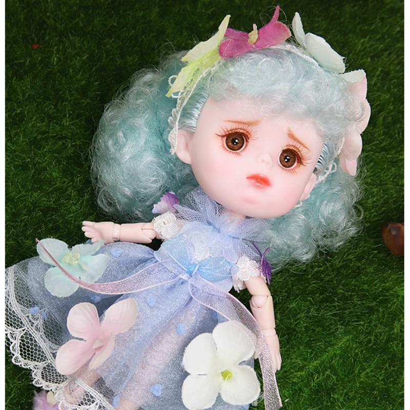 Rêve fée 1/12 BJD poupée DODO poupée ob11 14cm mini poupée 26 corps commun mignon enfants cadeau jouet ange surprise poupée - 4