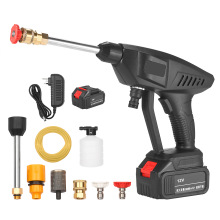 Nozzle Washer-Machine Garden-Sprayer Portable Cordless High-Pressure 12V 30bar Gun Foam-Generator